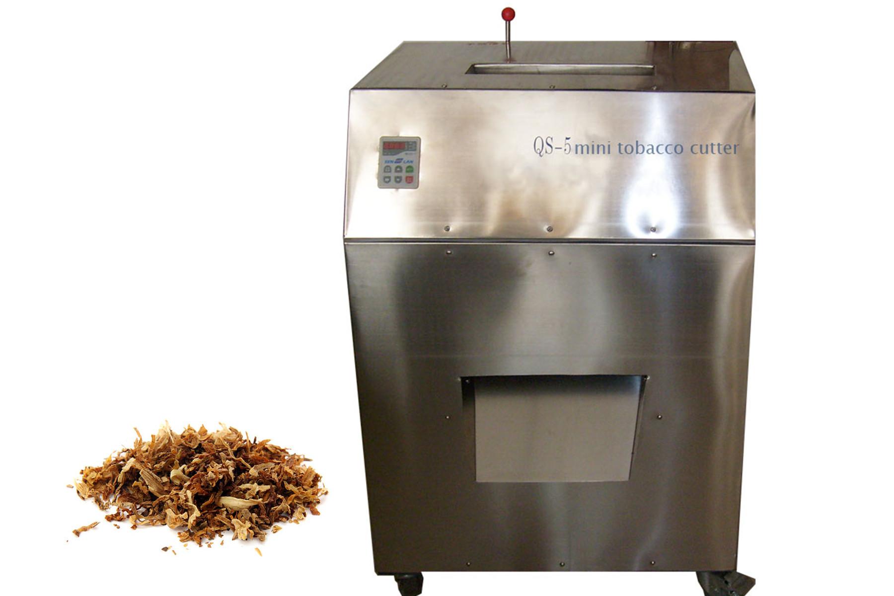 QS-5 Mini Tobacco Cutting Machine, Mini Tobacco Cutter For